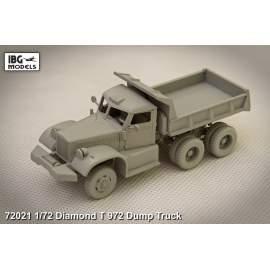 IBG Model 1:72 DIAMOND T 972 Dump Truck