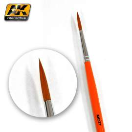 Fine long weathering brush (hosszú szőrű ecset)