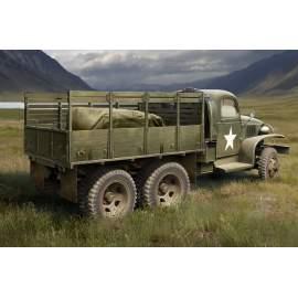 Hobbyboss 1:35 1:35 US GMC CCKW-352 Wood Cargo Truck