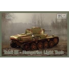 IBG Model 1:72 Toldi III Hungarian Light Tank