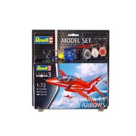 Revell 1:72 Modell Set - Bae Hawk T-1 Red Arrows