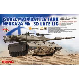 Meng Model 1:35 Israeli Merkava Mk.3D Late LIC MBT