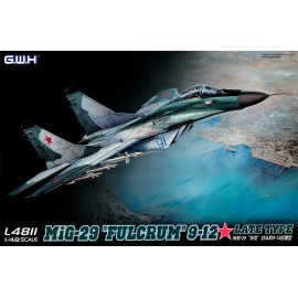 "Great Wall Hobby - 1:48 MIG-29 9-12 ""Fulcrum"" Late Type"