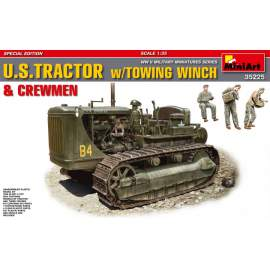 Miniart - 1:35 U.S.Tractor w/Towing Winch&Crewmen Special Edition