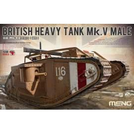 Meng Model 1:35 - British Heavy Tank Mk. V Male