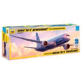 Zvezda 1:144 Boeing 787-9 Dreamliner - Long fuselage