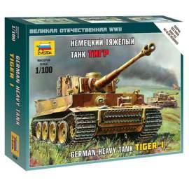 Zvezda 1:100 Tiger I