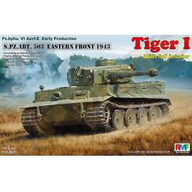 Ryefield model 1:35 Tiger I Early Production w/Full Interior
