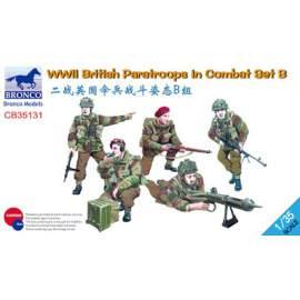 Bronco 1:35 WWII British Paratroops in Combat Set B