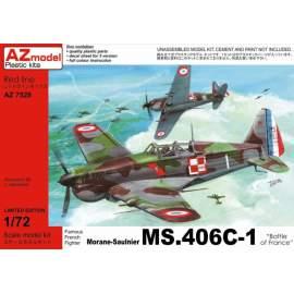 "AZ Model - 1:72 Morane-Saulnier MS.406C-1 ""Battle of France"""