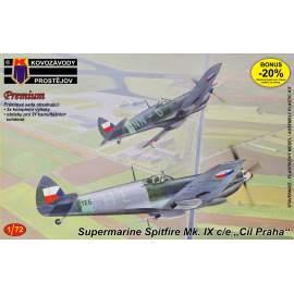 KP Model 1:72 - Spitfire MK IX. Premium 3x