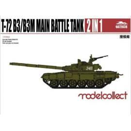 Modelcollect 1:72 T-72 B3/B3M Main Battle Tank 2 in 1