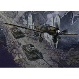 """Academy 1:72 Junkers Ju 87G-2 & JS-2  """" Limited edition"""""""