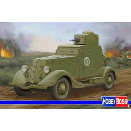 Hobbyboss 1:35 - Soviet BA-20 Armored Car Mod.1939