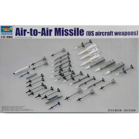 Trumpeter 1:32 US aircraft weapon-Air-to-Air Missile