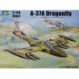 Trumpeter 1:48 US A-37A Dragonfly Light Ground-Attack