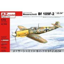 AZ Model - 1:72 Messerschmitt Bf-109F-2 JG54