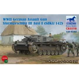 Bronco 1:35 WWII German Assault Gun Sturmgeschütz III Ausf E (SdKfz 142)