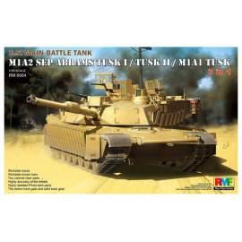 Ryefield model 1:35 M1A2 SEP Abrams Tusk I/Tusk II/M1A1 Tusk