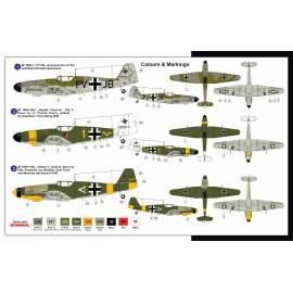 AZ Model - 1:72 Messerschmitt Bf-109 H-1/R6