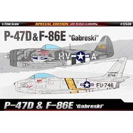 Academy 1:72 P-47D & F-86E ´Gabreski´ Limited Edition