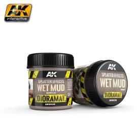 Splatter effects - Wet mud (Felverődések - Nedves sár effekt)