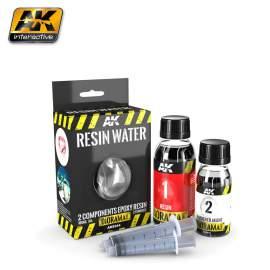 Resin water - Két komponensű epoxigyanta művíz (180 ml)