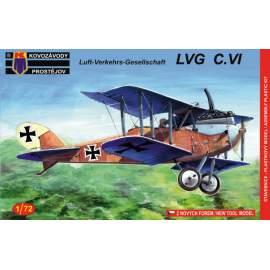 KP Model 1:72 LVG C.VI Germany