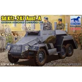 Bronco 1:35 Sd.Kfz.247 Ausf.A.German Armored Command Car