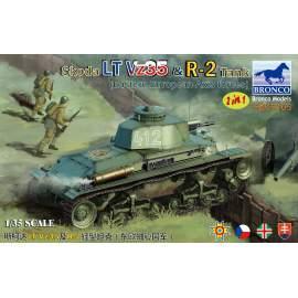 Bronco 1:35 Skoda LT Vz35 & R-2 Tank 2in1 (Eastern European Axis Forces)