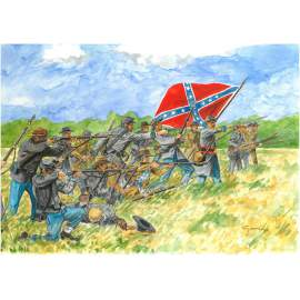 Italeri 1:72 Confederate Infantry [ACW/American Civil War]