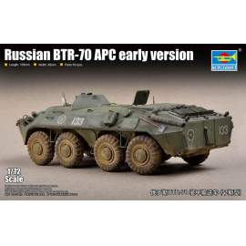 Trumpeter 1:72 Russian BTR-70 APC early version