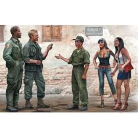 Masterbox 1:35 Somewhere in Saigon, Vietnam War Series
