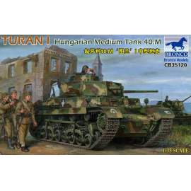 Bronco 1:35 Turan I Hungarian Medium Tank 40.M