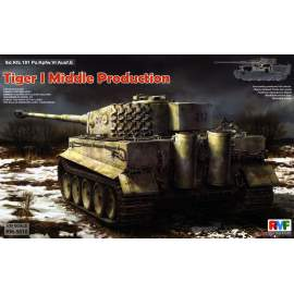 Ryefield model 1:35 Tiger I Middle Production with Full Interior
