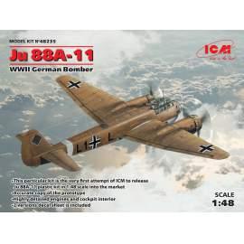 ICM 1:48 Ju 88A-11 WWII German Bomber