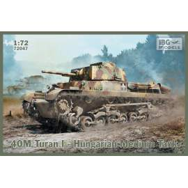 IBG Model 1:72 40M Turan I – Hungarian Medium Tank