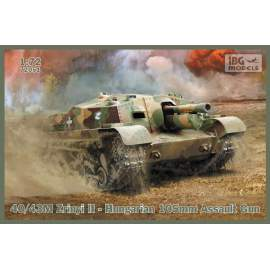 IBG Model 1:72 40/43M Zrinyi II - Hungarian 105mm Assault Gun