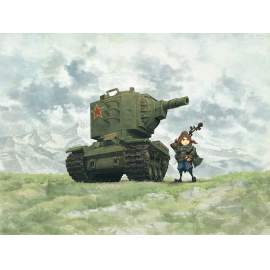 Meng Model - Soviet Heavy Tank KV-2