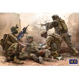 Masterbox 1:35 Under Fire, Modern US Infantry