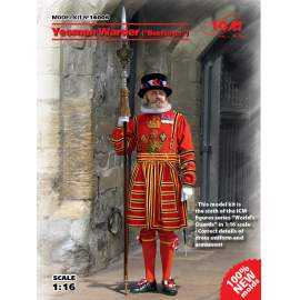 """ICM 1:16 Yeoman Warder """"Beefeater""""  (100% new molds)"""