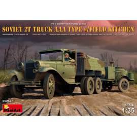 Miniart 1:35 Soviet 2t Truck AAA Type with field kitchen