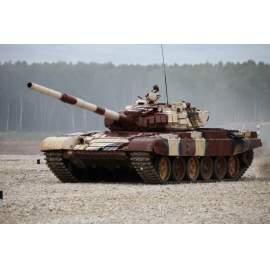 Trumpeter 1:35 Russian T-72B1 MBT(contact-1 reactive amor) harcjármű makett
