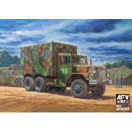 AFV-Club 1:35 M109A3 Van Shop (Van body with internal structure)