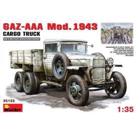 Miniart 1:35 Soviet GAZ-AAA Mod.1943 Cargo Truck
