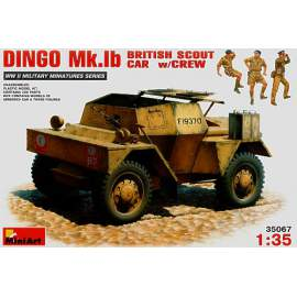 Miniart 1:35 Daimler Dingo Mk.Ib Armoured Car with Crew