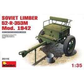 Miniart 1:35 Soviet Limber 52-R-353M Mod. 1942
