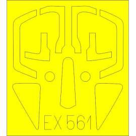 Eduard mask 1:48 Su-17M4 Fitter