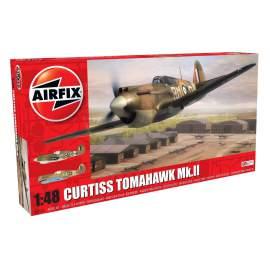 Airfix 1:48 Curtiss Tomahawk Mk.II repülő makett