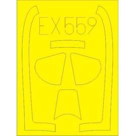 Eduard mask 1:48 P-51D (Meng)
